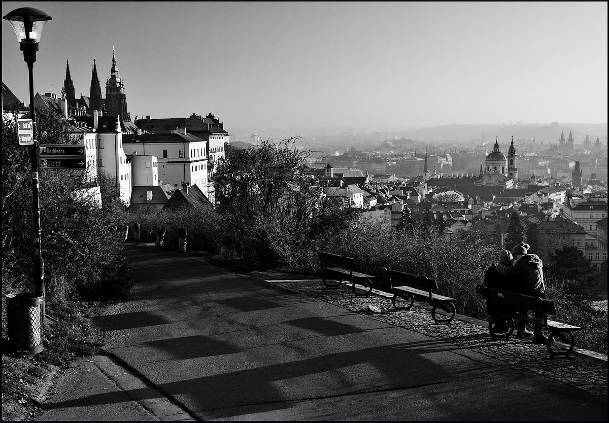 Mесто фотографирования, Градчаны–Прага-1