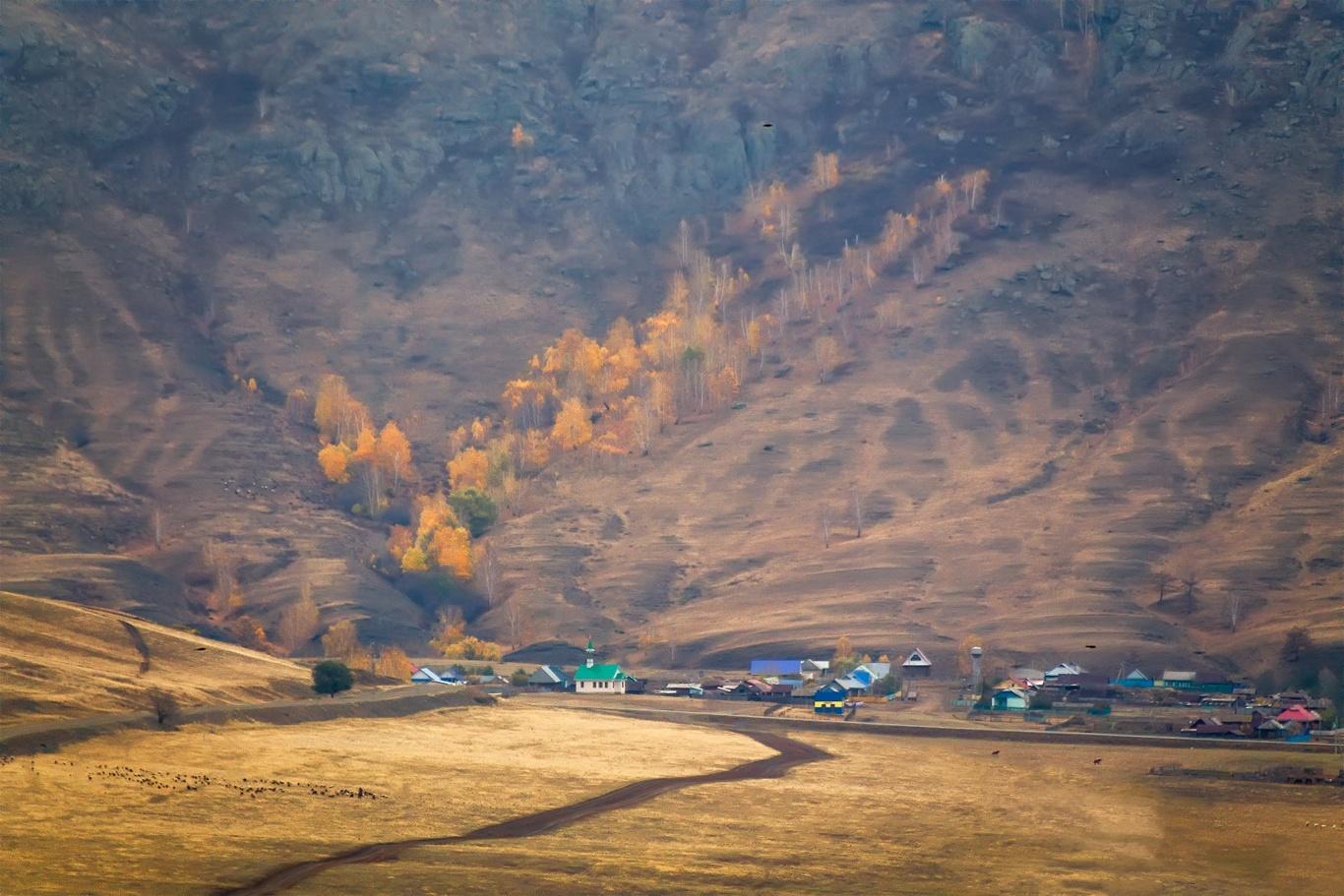 Южный Урал, осень