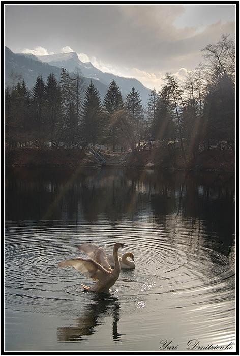 Кабардино-Балкария, Голубое озеро.