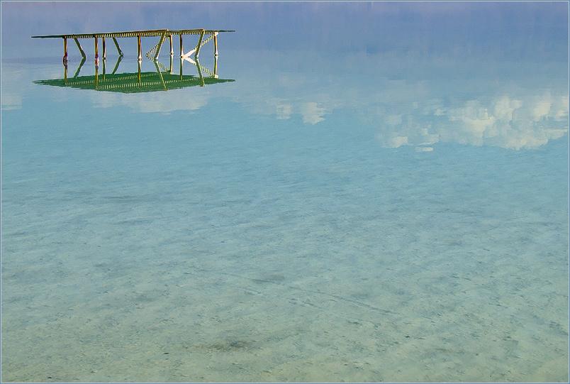 Израиль, Мертвое море, Эйн-Бокек, январь 2006 г.