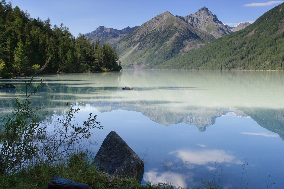 Алтай, озеро Кучерлинское