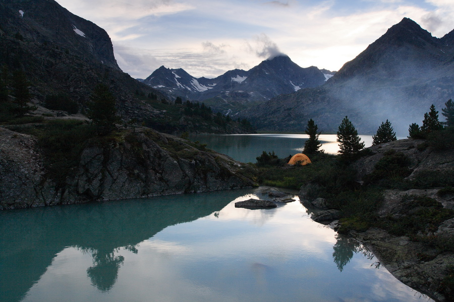 Алтай, озеро Дарашколь