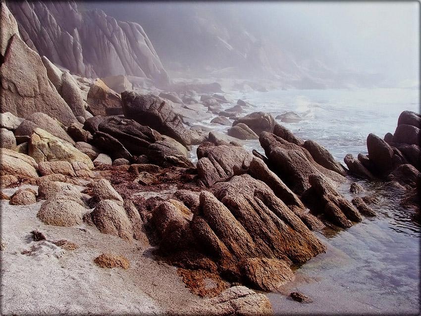 Бухта Окуневая. Сад Камней. Залив Петра Великого.