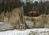 Рыбацкий посёлок Йодкранте. Февраль месяц.