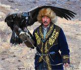 Чемпионат Казахстана по беркутчи (охота с ловчими птицами). На снимке - один из проигравших.
