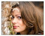 осень, холодно, снег выпал, снимаем портреты :)
