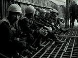 рабочие строительство труд отдых бетон