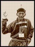 """Старейший призер соревнований по стрельбе из лука. Международный фестиваль """"Алтаргана-2006""""."""