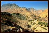 Пустыня Негев рядом с оазисом Эйн-Геди.
