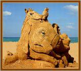 Международный конкурс песчаных скульптур. Хайфа - 2005 год.