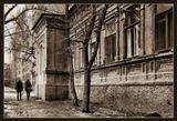 старый дом в старом городе.
