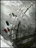 Колесо Сансары (санскр. «блуждание», «круговорот»)наглядно демонстрирует бесконечное круговращение человека,характеризующееся рождением, смертью и новым рождением. .