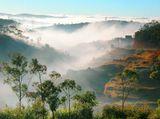 Рассвет в июле в окрестностях Антананариву