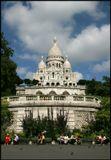 Базилика Секре-Кер Монмартр Париж