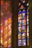 Мозаичные витражи собора Святого Вита. Прага 2008г.