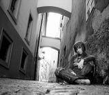 автопортрет на любимой улочке в чудесной Праге