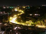 Ночной Севастополь, чистое небо, безветренная погода, съемка со штативом