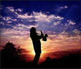 Саксофон, закат, Сочи