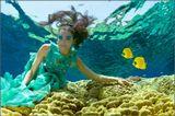 Красное море. Модель - актриса, фридайвер Марина Казанкова. Костюм, образ - Lea Druet.  Этой фотографией завершу серию. А то наверное надоела :))