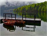 Словения, озеро Бохинь