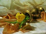 Тюльпан,желтый,ваза,жажда