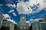 Санкт-Петербург, Смольный собор - 1748-1835, архитектор Б. Растрелли