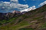 Гызылгая в переводе Золотая или Красная гора(3726 м.)