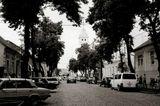 Лето Улица старого города.