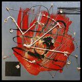 Оригинал: 40х40 см., оргалит, дерево, стекло, металл, нитроэмаль, акрил, лак, фольга, полимеры и др.
