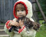 Барашек с котенком...
