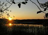 Может кому-то уже и надоели закаты, но я их все еще люблю...(Селигер, озеро Белое)
