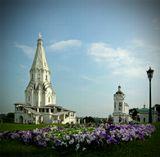 В любимом парке на берегу Москвы-реки.