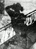 Теневой АвтоПортрет.ЗЕНИТ-ЕТ + Гелиос 44м. Коника-Монохром исо200. 2001 год.Павловск.:)
