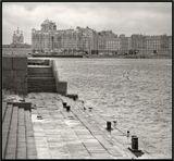 Таким Петербург остался в памяти после зимней командировки.