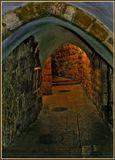 Старый город,Иерусалим,без вспышки,с руки,обработка Photoshop CS.