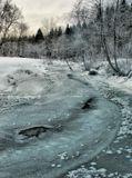 Снято на реке Клязьме в прошлом году, когда зима неожиданно вспомнила-таки о своих обязанностях.
