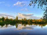 пейзаж, пейзажи, Питер, Петербург, пригород, вечер, весна, закат, отражение, облака