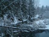 Река Нача не замерзала в нашу морозную, почти русскую зиму, когда морозы стояли до минус тридцати по Цельсию, а она, всё продолжала и продолжала свой путь...  Я так и не узнала причину её незамерзания...  ЧудО (?)