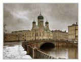 Свято-Исидоровская церковь — действующая православная церковь в Санкт-Петербурге, находящаяся на пересечении Лермонтовского проспекта и проспекта Римского-Корсакова у Могилёвского моста...еще один ракурс