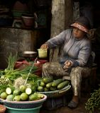 Запах рыбы, загнивающих овощей, разлагающихся остатков мяса, потеющих туристов, стаи мух, перекрикивающие друг - друга продавцы и покупатели, скользкая и чавкающая под ногами жижа, высокая влажность при температуре примерно 40С… Это часть незабываемых впечатлений о провинциальном рынке острова Фу Куок (Сиамский залив).