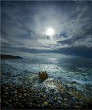берег Кипра.бухта Афродиты