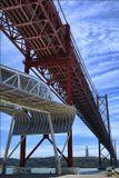 """Португалия, г. Лиссабон, мост """"25 Апреля"""", сентябрь 2008 г."""