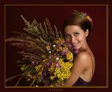 Обожаю полевые цветы. Сама нарвала, сама вошла в образ :), сама сняла. И в эти холодные зимние дни дарю вам этот букет!