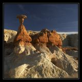Grand Staircase-Escalante National Monument, Paria Rimrocks and Toadstools, Utah, USA