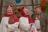 Репортаж с праздника Масленицы