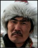 На празднике Сагаалган(Новый год по бурят-монгольскому календарю). Бурятия.