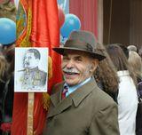9 мая 2008 года. Сбор перед демонстрацией. Нечаянный портрет