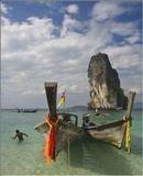 О.Пода, побережье Краби, Таиланд