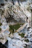 В провале пещеры Вертолетная, Башкирия.