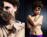 визажист: Ирина Трепельстилист-парикмахер: Оранжевая Троямодель: Евгения